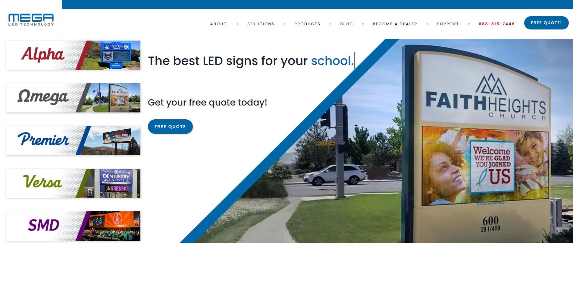 MEGA LED Technology